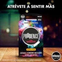 """DKT de México presenta nueva línea de condones doblemente lubricados """"Prudence Full Sensitive"""" dirigida a  adultos jóvenes. @PrudenceMexico #QuieroMásPrudence @dktmexico"""