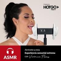 Nuevos videos de la Playmate Verónica Flores con tecnología ASMR para HOTGO @HOTGOTV  @yo_soy_veronica