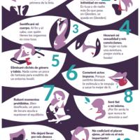 Los 10 mandamientos de la libertad sexual femenina @Gleeden_Es